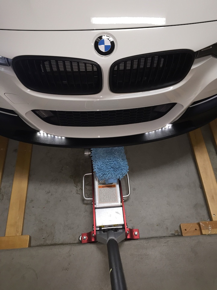 Diy F30 M Performance Aero Front Lip Splitter Install